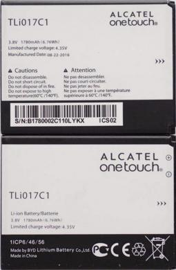Оригинална батерия за Alcatel One Touch PIXI, TLI017C1