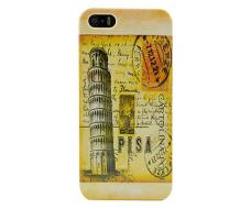 Луксозен гръб за Iphone 5, Iphone 5S Pisa Tower