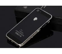Луксозен метален Bumper за Iphone 5, Iphone 5S silver