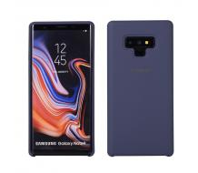 Оригинален гръб за Samsung Galaxy Note 9 N960, Silky and Soft EF-PN960TLEGWW син