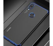 Луксозен гръб за Huawei Honor 8X, Cafele Super Slim син