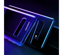 Оригинален кейс за Samsung Galaxy S10 Plus, Cafele Luxury Fit син