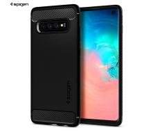 Оригинален кейс за Samsung Galaxy S10, Spigen Rugged Armor черен